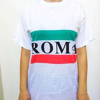 """⚡Vintage 80's """"ROMA"""" Tee ⚡"""