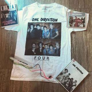 One Direction's official On The Road Again Tour shirt