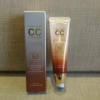 YIHAN CARINO CC霜/Triple Correct/ CC Cream/韓國/正品