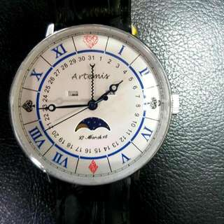 ARTERMIS Vintage Moonphase Watch