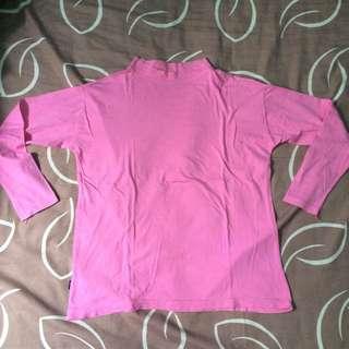 Turtle Neck Pink