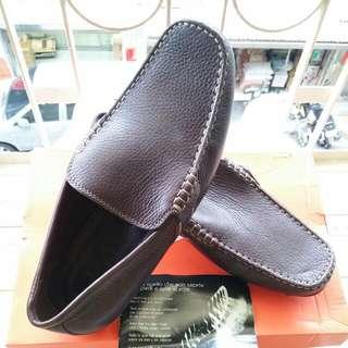 男休閒皮鞋