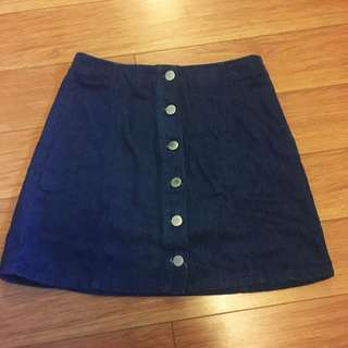 pending PARE basic denim skirt