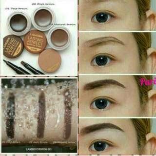Landbis Lasting Perfect Eyebrow Cream/landbis 3in1