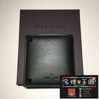 [全新] VALENTINO Bi-Ford Leather Wallet