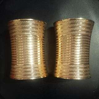 Gold Cuff Bracelets