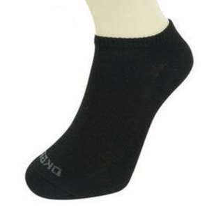 《DKGP11》東客集排汗氣墊踝襪 (黑色/灰色)