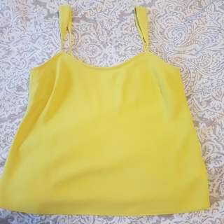 Witchery Neon Yellow Top