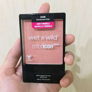 Wet N Wild Coloricon Blush Pearlescent Pink