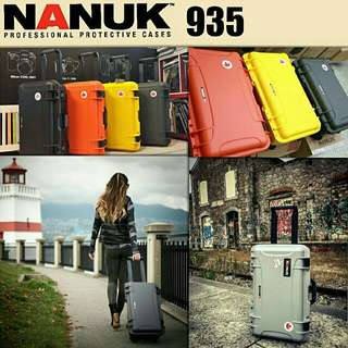 Nanuk Protective 935 Hard Case with Standard Foam From Canada