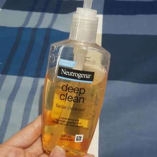 💓 NEUTROGENA Deep Clean Facial Wash
