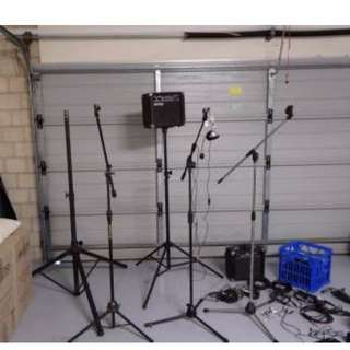 Live sound audio accessories