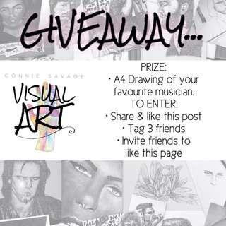 FREE ART (giveaway)
