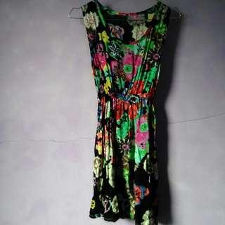 Dress Abstract Flower