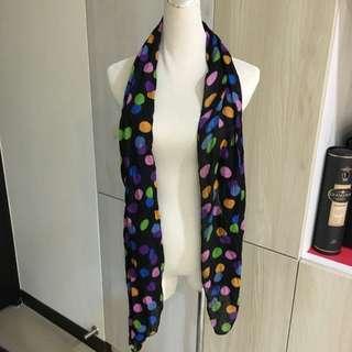 時尚 造型 圍巾