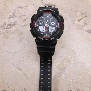 Casio G-SHOCK GA-100-1A4 Original Cased In Thailand