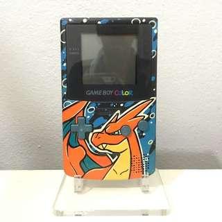 Nintendo Gameboy Colour Custom Charizard Paint