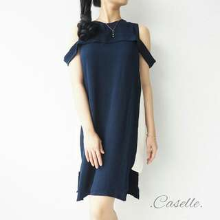 Tayce Two Color Dress