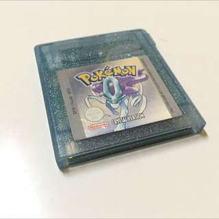 IMMACULATE CONDITION Pokemon Crystal Version For Gameboy Colour