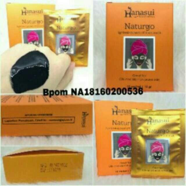 (1box) Masker Hanasui Bpom