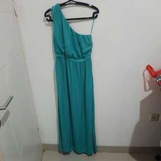 Zara Long Dress One Shoulder