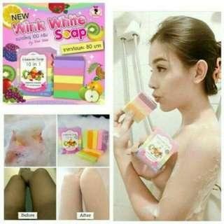 Fruitamin Soap / Sabun Pemutih Kulit By Wink White