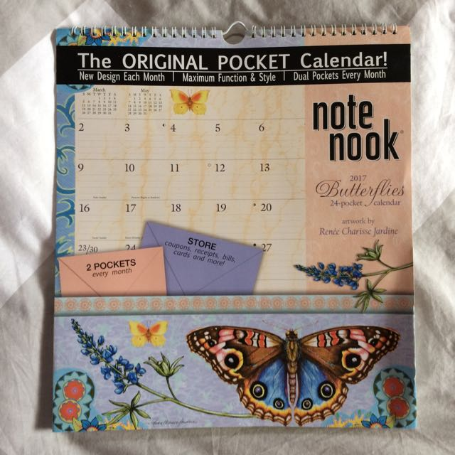 2017 The Original Pocket Calendar