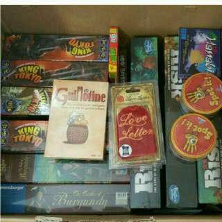 New And Authentic Assorted Board Games