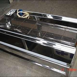紅外線側火無煙烤爐適合擺攤小吃黑輪香腸攤燒烤