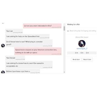 @vernongoh_7  : Custom Rig/PC seller, beware of this self-centered person!