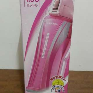 象印不鏽鋼真空保冷瓶  SD-AB10-PA