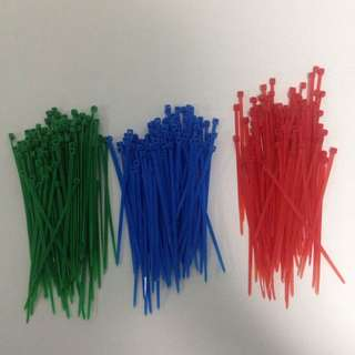 Coloured Zip/Cable Ties