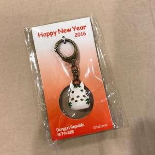 龍貓 雪人鑰匙圈