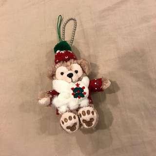 Duffy 吊飾 聖誕節限定 坐姿
