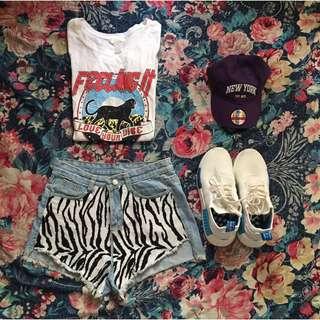 Zebra Design Hw Short