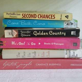 Preloved Books Set Of 6 Cheap Cebu