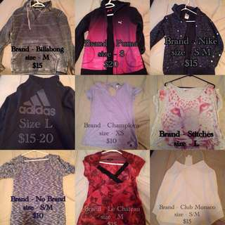 Women's Clothing! See All Pics And Make Offer!
