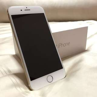 64GB iPhone 6 Gold (With Box)