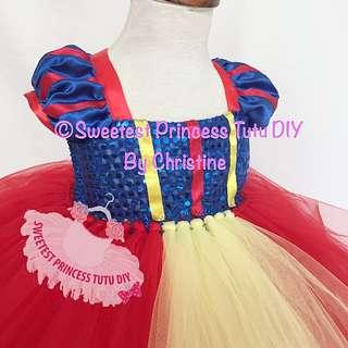 Princess Snow White Tutu Dress
