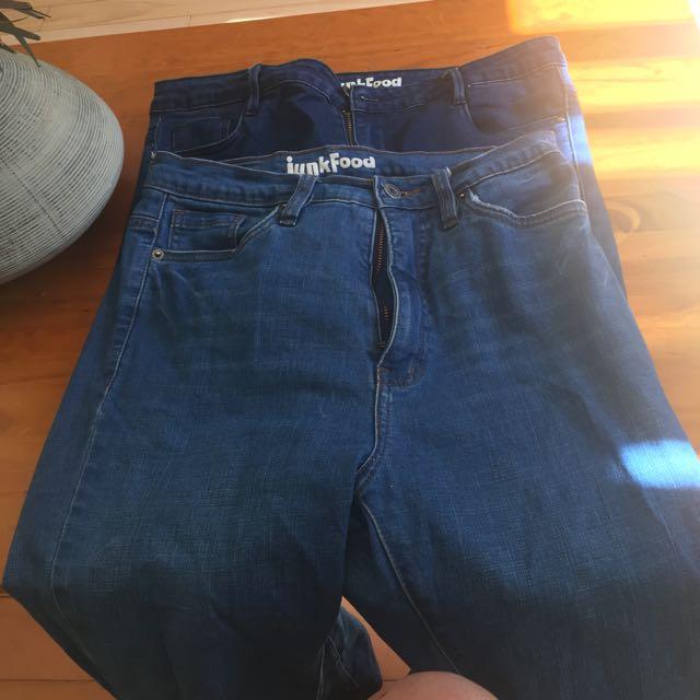 2 Junk food Jeans