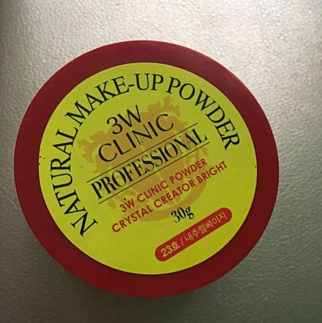 3W Clinic powder #23