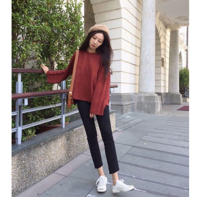 木卯❤寬袖針織衫