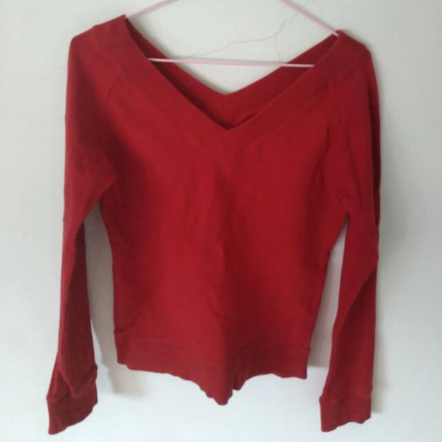 [免運]紅上衣