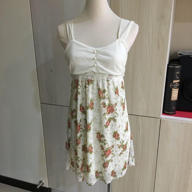 百元~雪紡 質感極佳 小洋裝