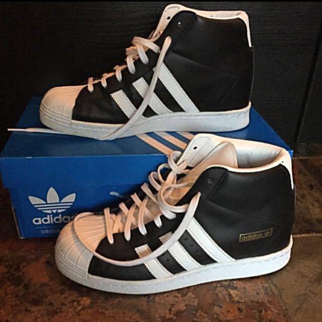 Adidas Originals Up High Wedge Sneaker
