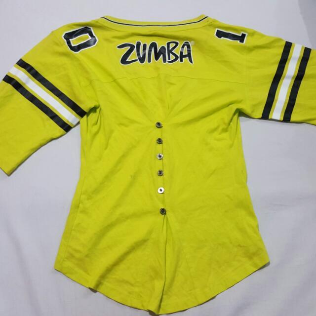 Authentic Zumba Wear (Medium)