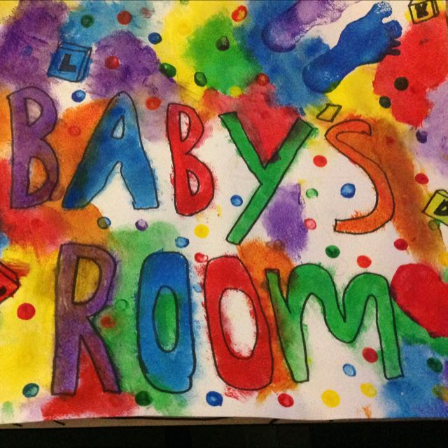 Baby's Room Sign