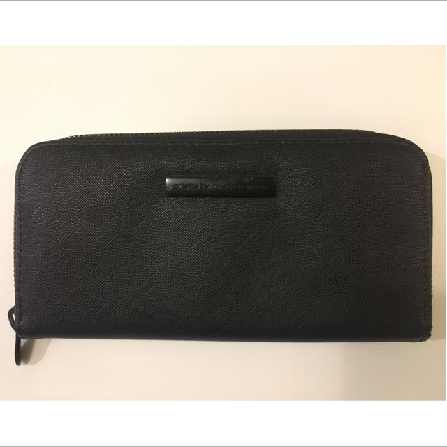 Black Colette Wallet with Badge