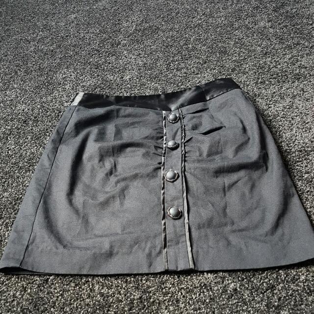 Black Semi Formal Skirt