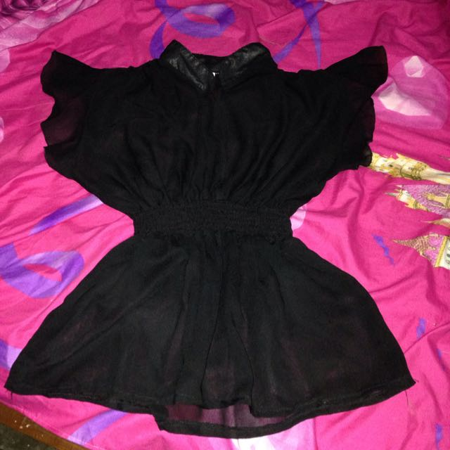 Blouse Hitam Outer